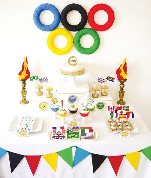 Olympics themed party
