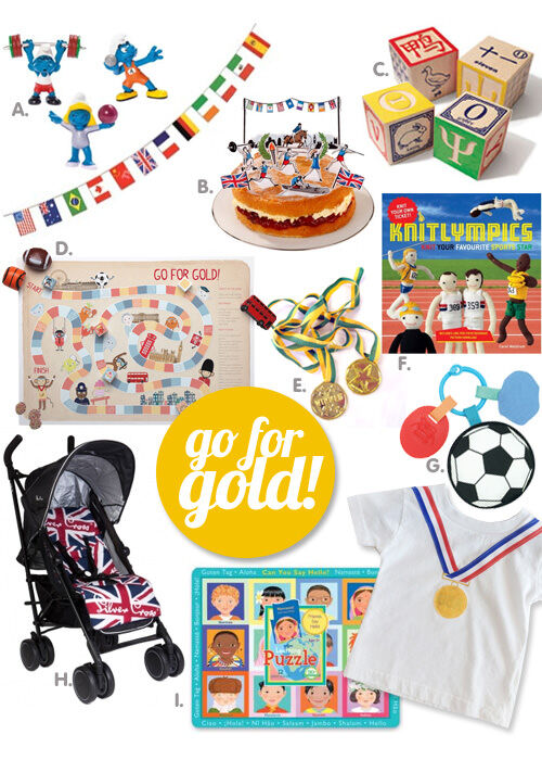 Olympic games themed toys and accessories