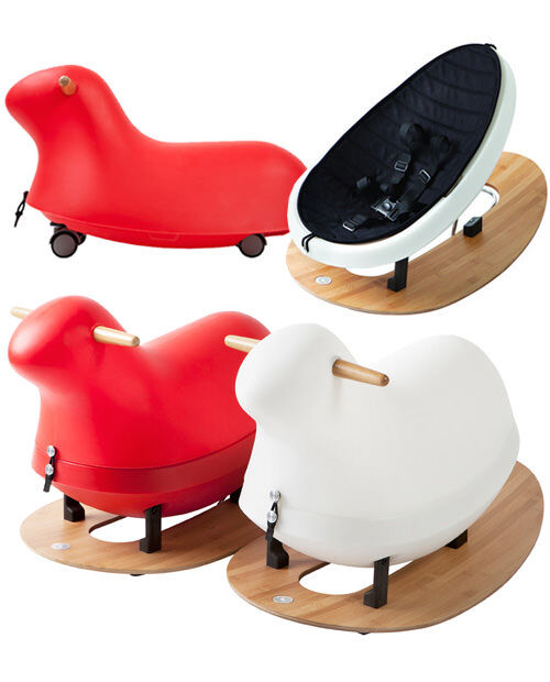 Rokii convertible baby rocker, rocking horse and ride-on