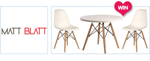 WIN a replica Eames DSW kids' table and chairs set