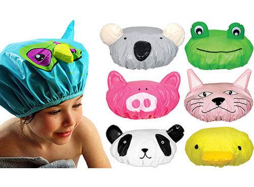 Annabel Trends animal shower caps