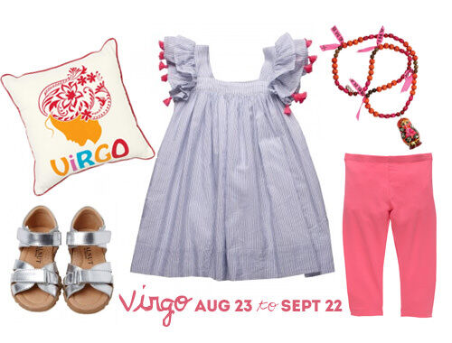 Virgo birthday outfit for little girls