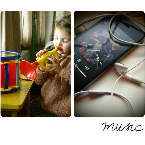 Like me, like Mum: music