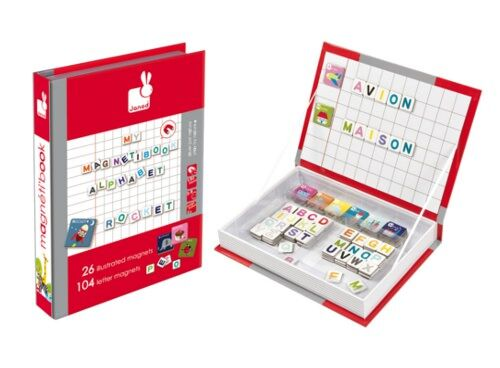 Janod Magnetic Alphabet Book