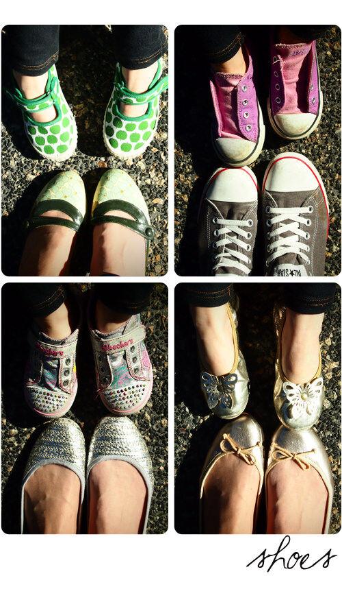 Like me, like Mum: Shoes