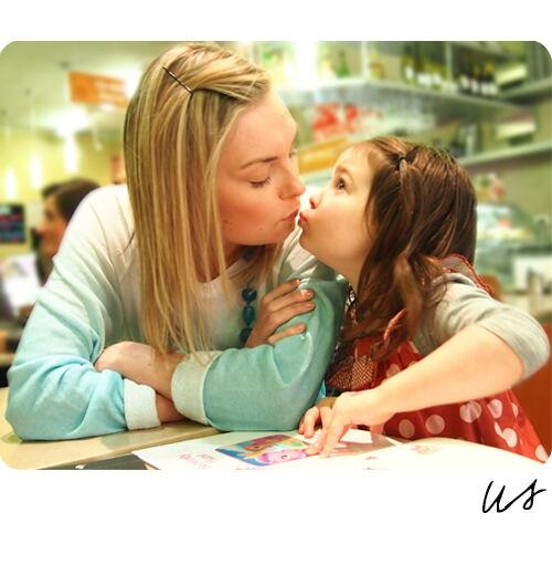 Like me, like mum: Us