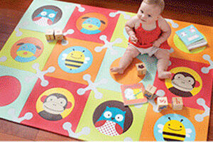 skip hop zoo playspot floor mat