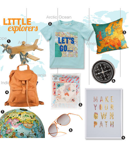 Treasures for little explorers