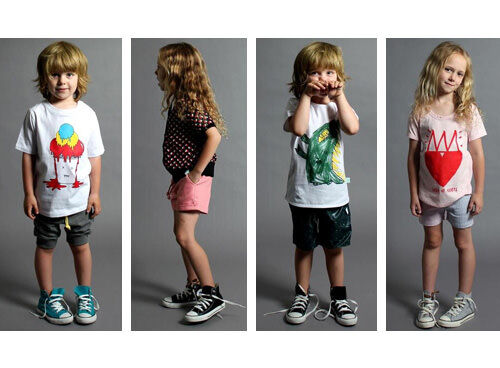 Minti kids' clothing - Summer 2012 collection