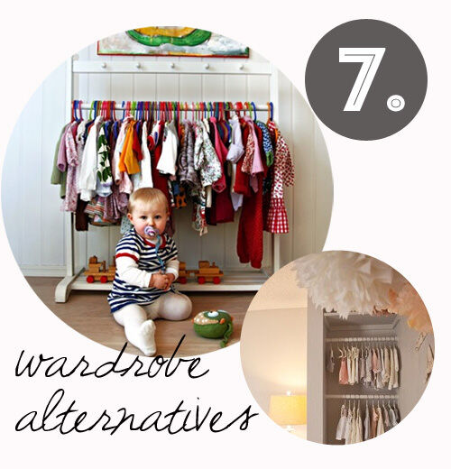 Decorating tips for renters: wardrobe alternatives