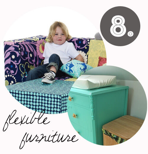 Decorating tips for renters: flexible furniture