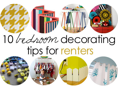 10 bedroom decorating tips for renters