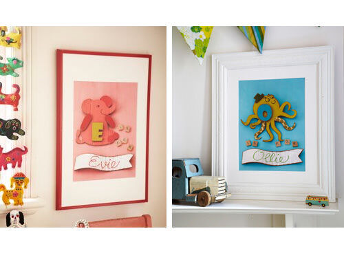 That Shoe On The Wall - personalised alphabet prints