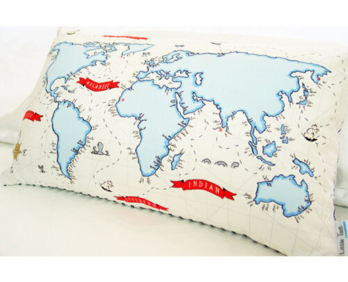A Pirates World cushions by Little Toot Creations