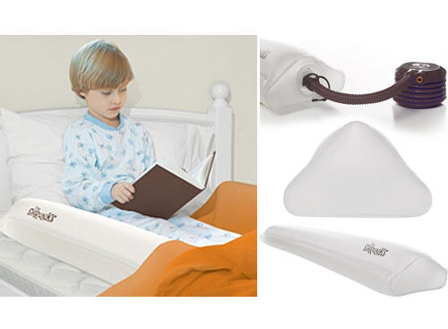 The Shrunks inflatable travel beds and bed rail