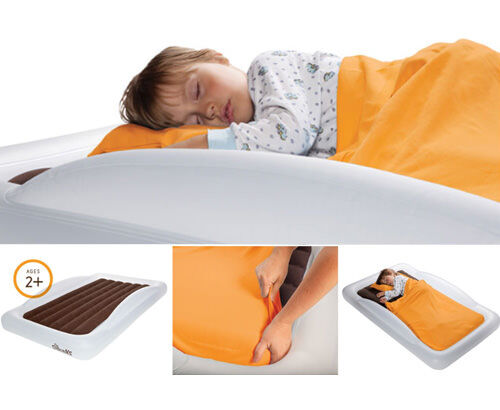 Quot The Shrunks Quot Inflatable Travel Beds And Bed Rail