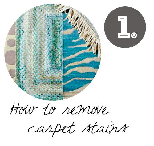 DIY cleaning tips: carpet cleaning