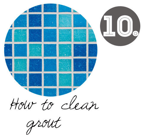 DIY cleaning tips: How to clean grout