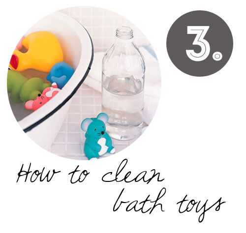 DIY cleaning tips: How to clean bath toys