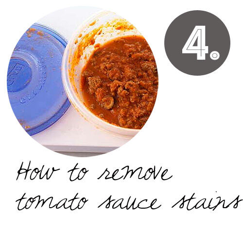 DIY cleaning tips: how to get spaghetti sauce stains off tupperware