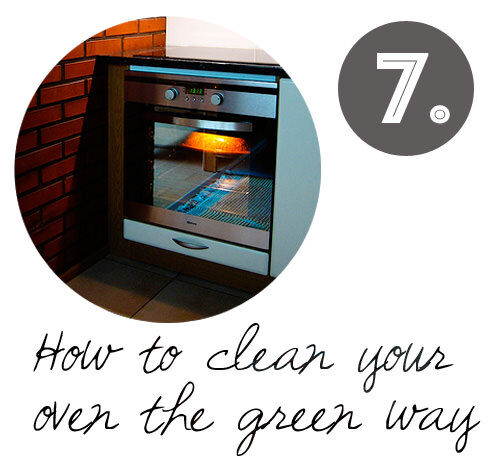 DIY cleaning tips: green oven cleaning
