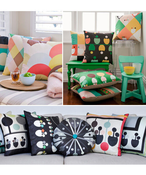 Babcha LUXE and Ikka cushions ranges by DAN300