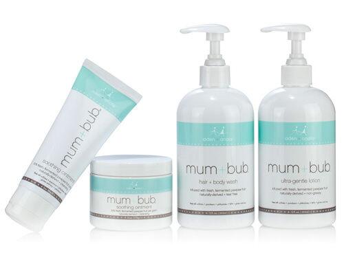 Aden + Anais | mum + bub | baby skincare