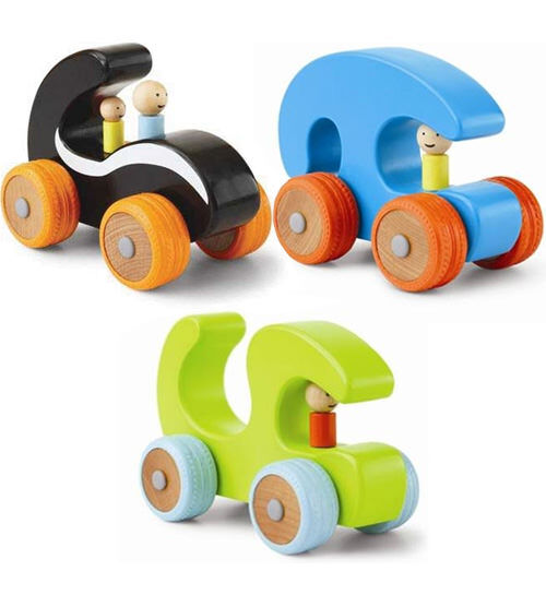 Manhattan Toys - Ready, Set, Go! Wooden cars