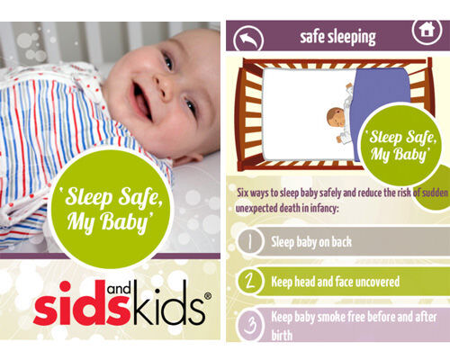 Best apps for new parents: safe sleeping