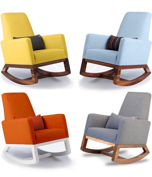 monte design joya rocker nursery rocking chair
