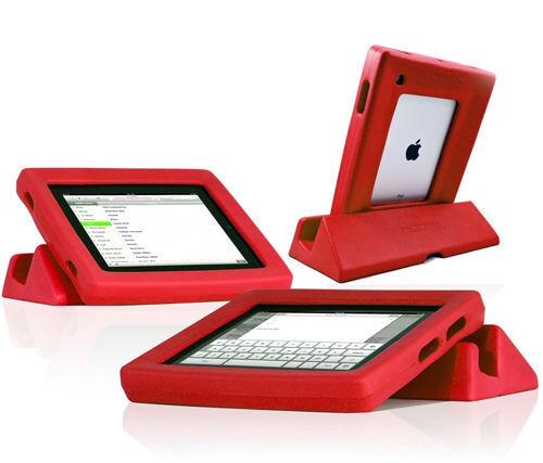 Koosh durable iPad cover and stand