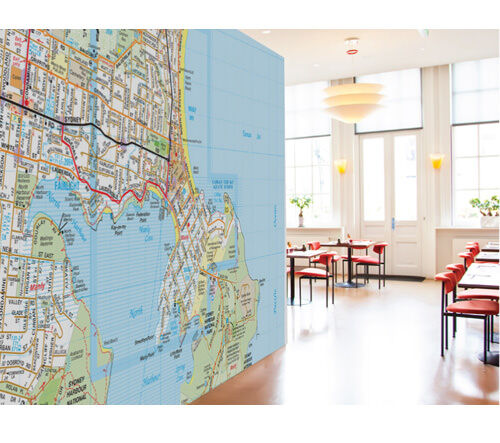 Melways maps wall stickers