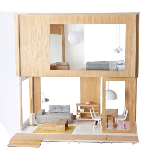 Miniio miniko designer dolls house for Modern furniture sites