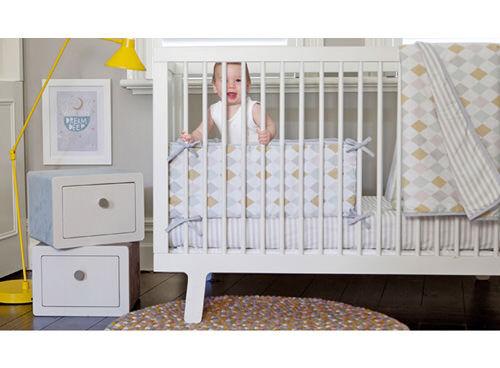 Olli Ella Harlequin cot bedding | Baby bedlinen