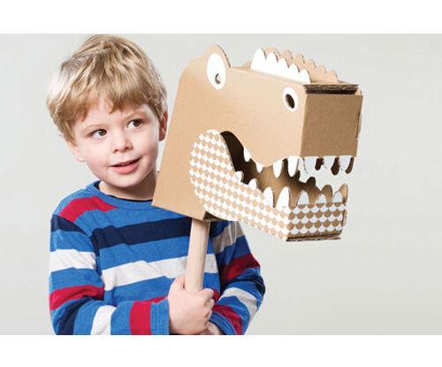 Flatout Frankie cardboard toys