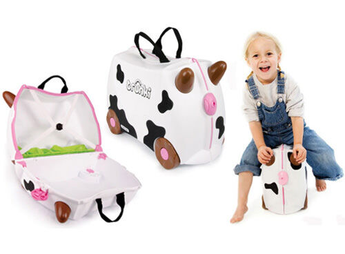 Trunki limited edition Freida the cow suitcase