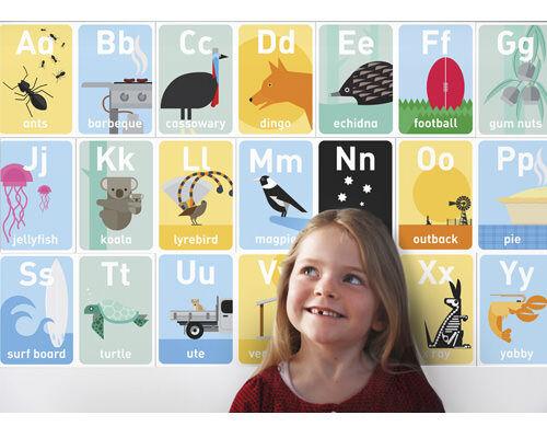 Ozzilla Australian educational games and decor