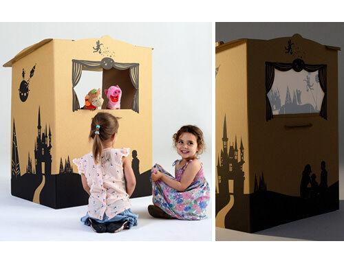 Tinyfolk Puppetbox | Cardboard toys