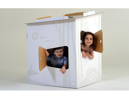 Tinyfolk Playhouse| Cardboard toys