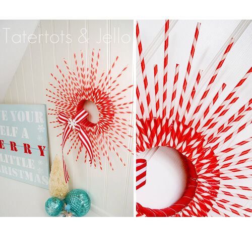 Quirky DIY Christmas Wreaths