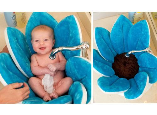 Blooming Bath - soft newborn and baby bath