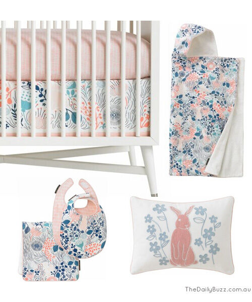 DwellStudio Meadow Baby Bedlinen