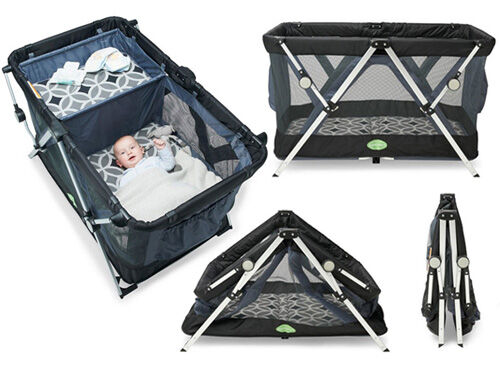 Quicksmart Easy Fold 3-in1 Travel Cot