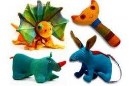 Barefoot fair trade toys
