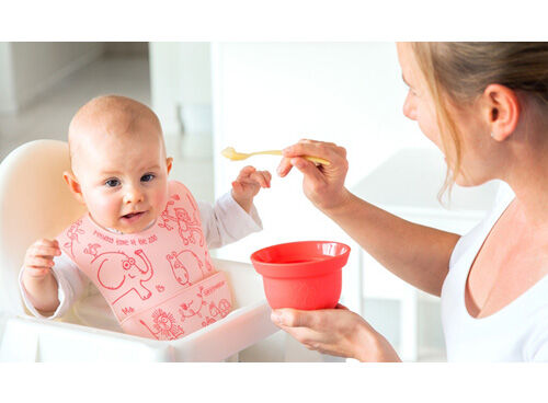 Weanmeiseter feeding accessories - AdoraBowls and EasyRinse bib