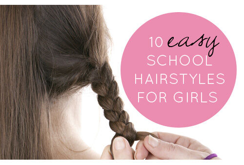 Excellent 10 Easy School Hairstyles For Girls Hairstyles For Men Maxibearus