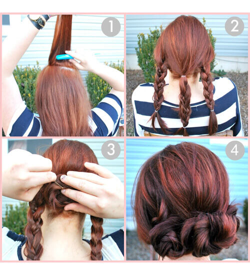 Sensational 10 Easy School Hairstyles For Girls Hairstyle Inspiration Daily Dogsangcom
