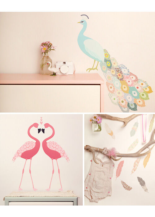 new wall stickers technology decals and partyware from into the wood s wallsticker i stof fra love mae