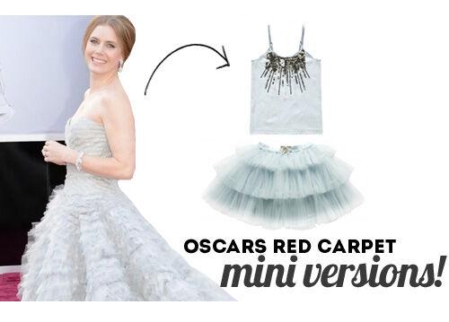 Oscars 2013 red carpet - mini versions for kids