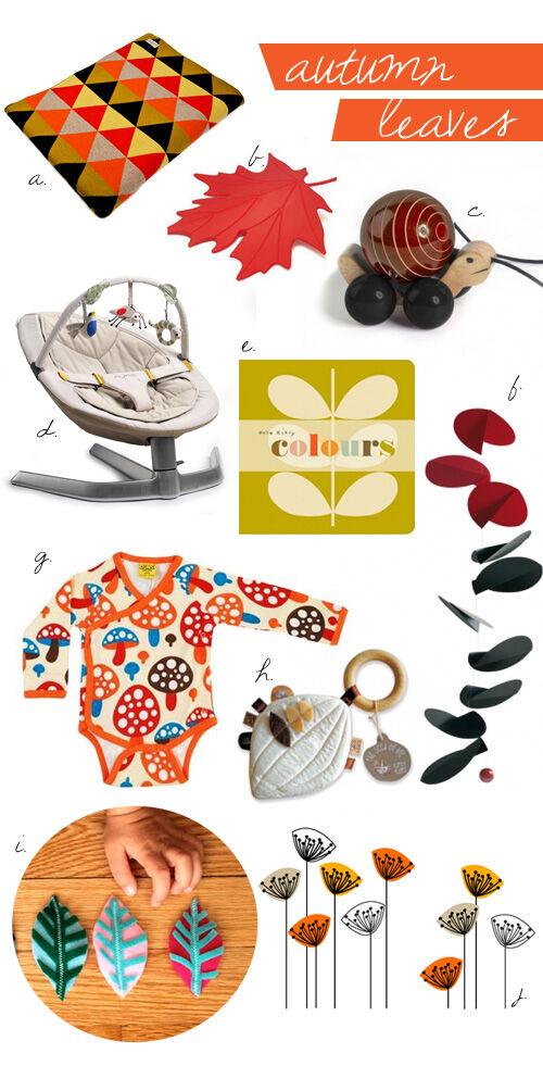 Autumn inspiration - fashion, homewares and toys